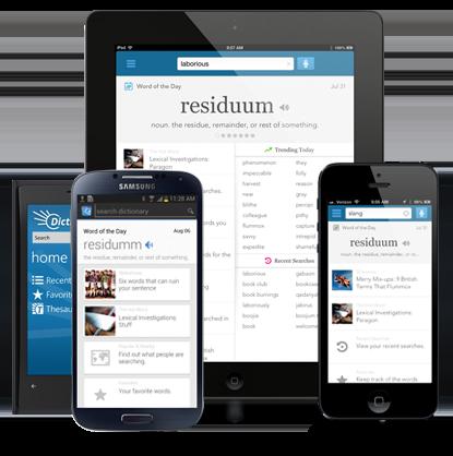 Dictionary.com iPhone iPad apps