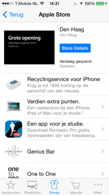 Apple Store App runtastic