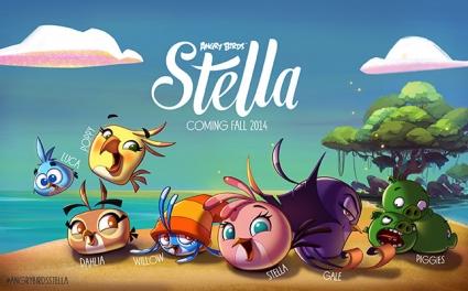 Angry Birds Stella hoofdpersonen