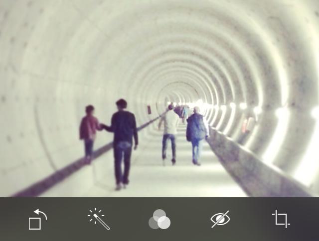 Foto bewerken iOS 8