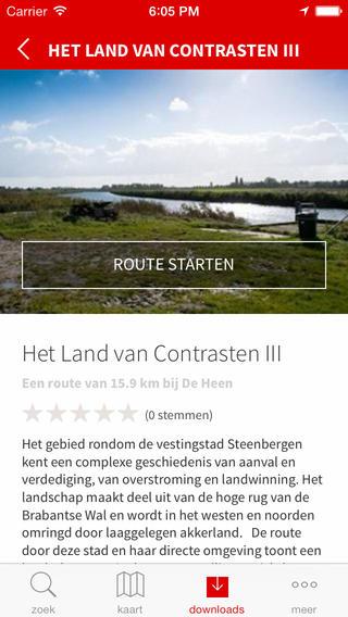 Brabant vertelt route info