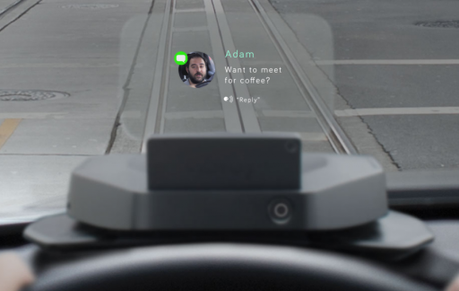 Navdy auto dashboard