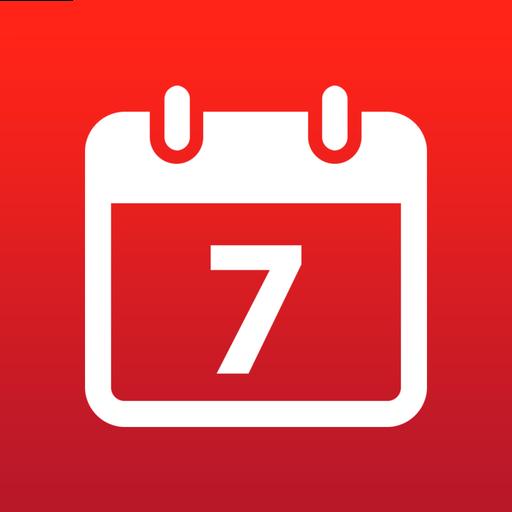 Cal List agenda's en kalenders op rij