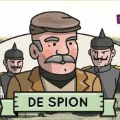De Spion is kat- en muisspel door Belgische stad Kortrijk