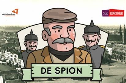 De Spion stadsspel Kortrijk GPS game iPhone iPad