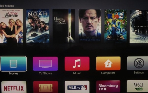 Nieuwe interface Apple TV