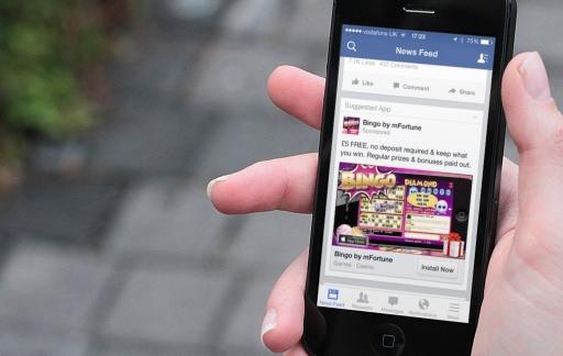 facebook app reclame