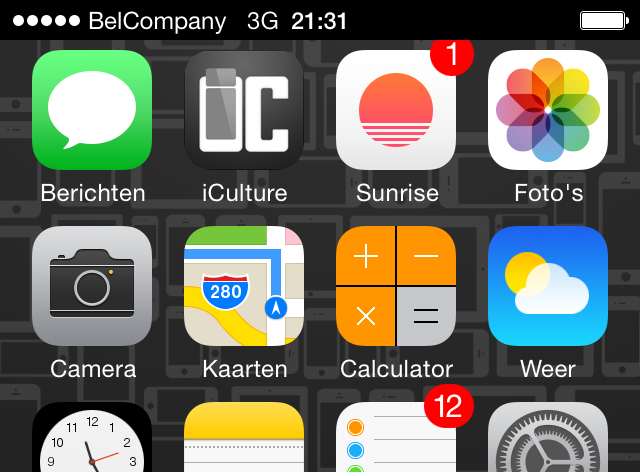 belcompany provider iphone