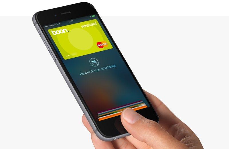 Boon-app al gebruiken met Apple Pay in Nederland