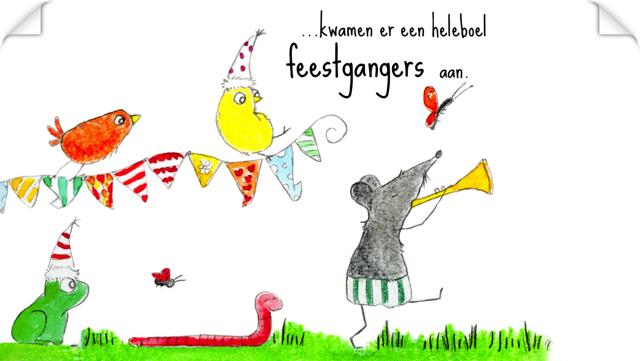 Kinderboekenweek 2014 Kleine Feestje