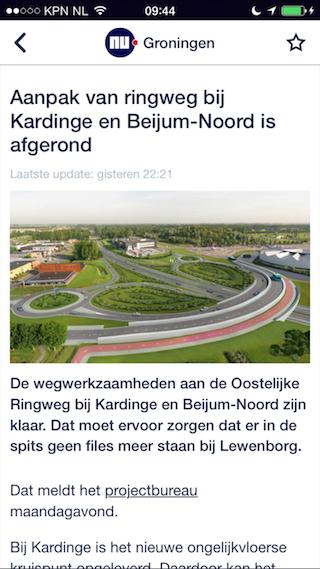 NU.nl regionaal bericht Groningen