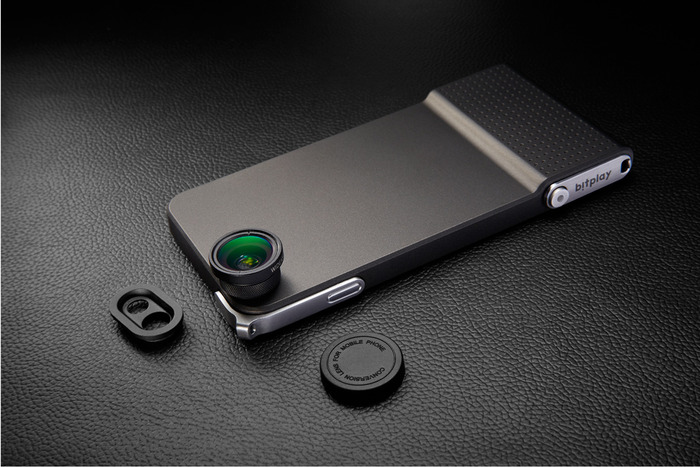Snap 6 iPhone case camera lenzen knop