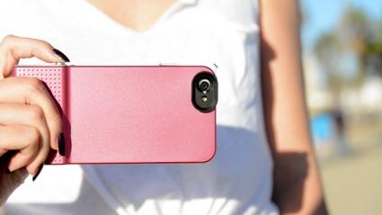 Snap 6 iPhone 6 case sluiterknop