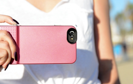 Snap 6 iPhone 6 case sluiterknop