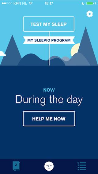 Sleepio review dashboard iPhone