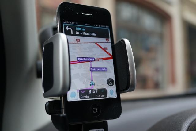 Waze iPhone iPad navigatie-app