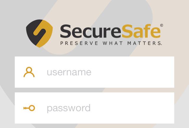 SecureSafe iPhone iPad wachtwoordenapp Touch ID
