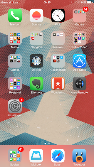 iPhone 6 Plus portret apps