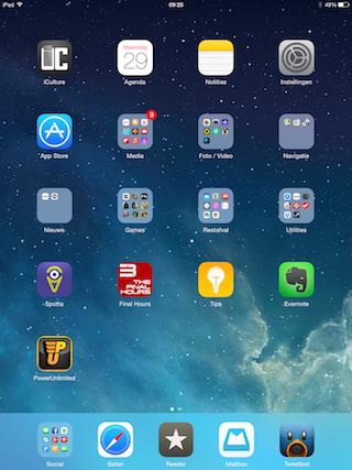 iPad portret apps