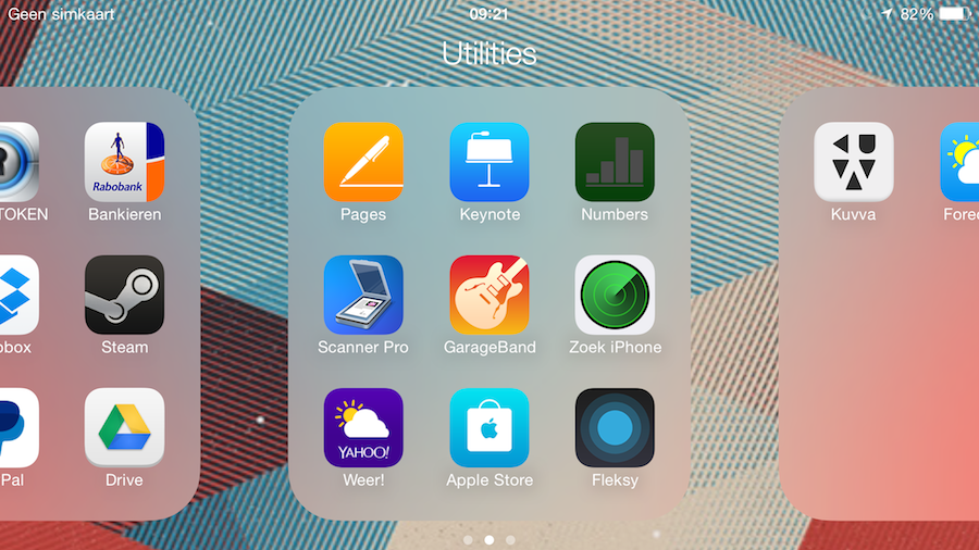 iPhone 6 Plus mappen