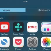 Launcher-widget voor iOS 8 terug in de App Store