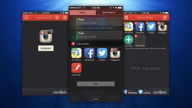 launcher iphone app