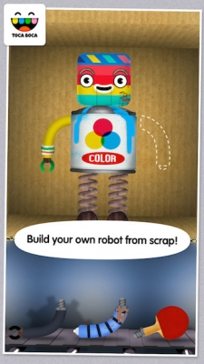 Toca Robot Lab spel