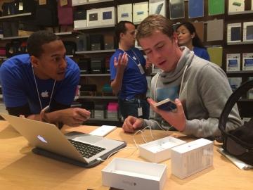 Apple Store Den Haag installatie
