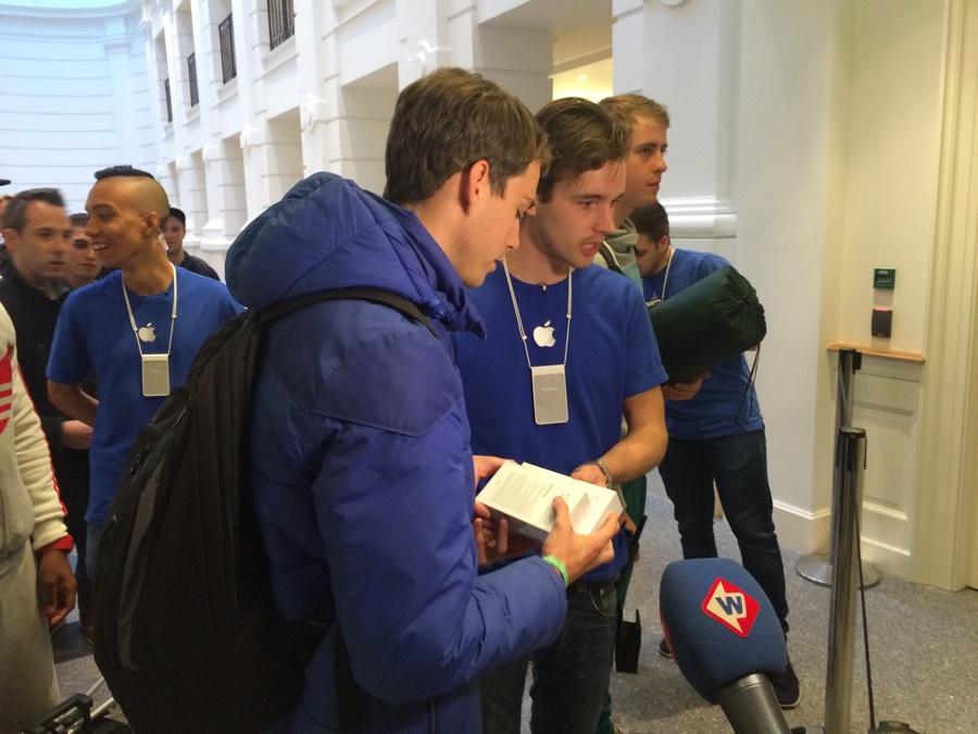 Apple Store Den Haag eerste koper interview