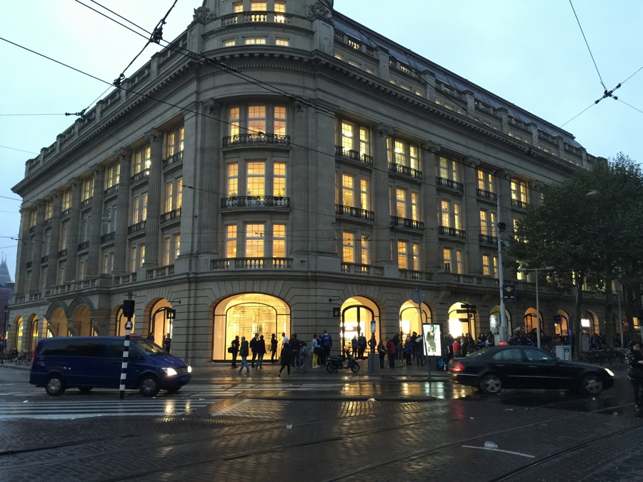 Apple Store Amsterdam zicht