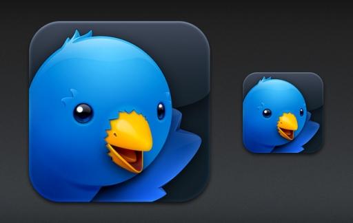 twitterrific iconen