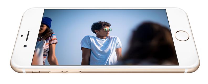 iPhone 6 voorkant goud