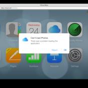 iCloud beta fotoalbum waarschuwing