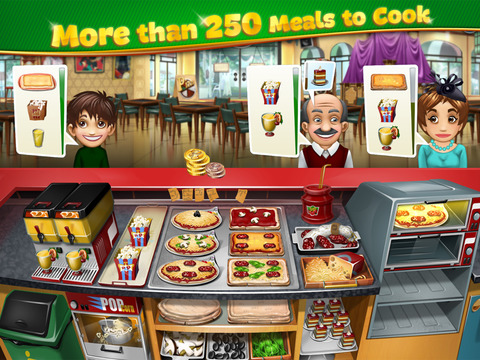 Cooking Fever iPad iPhone