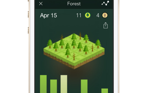 Forest iPhone populairste apps