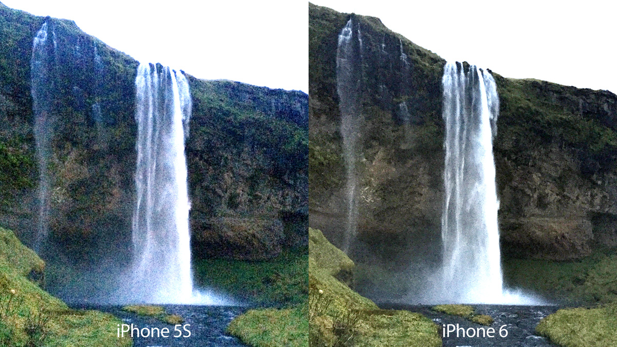 iPhone 5s vs iPhone 6 HDR