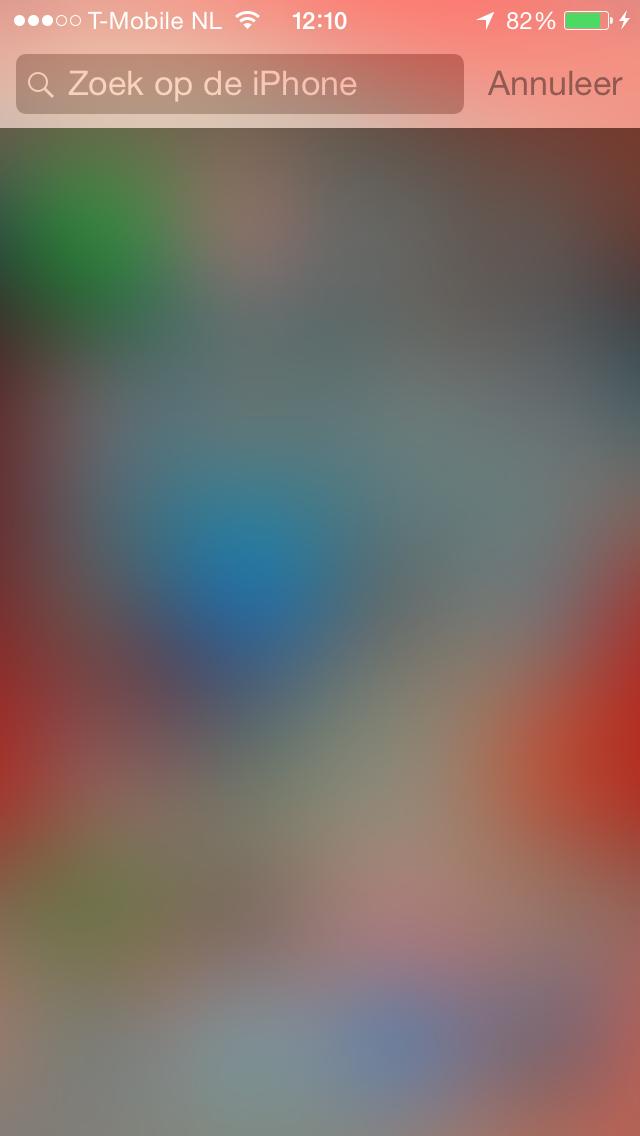 iOS 8  toetsenborden verdwijnen