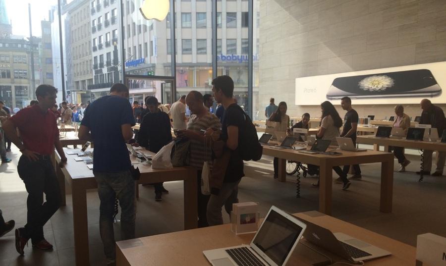 Dusseldurf iPhone 6 ophalen iCulture