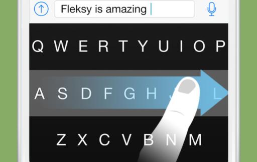 Fleksy Nederlands toetsenbord voor iOS 8