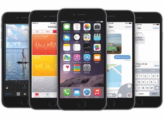 iphone 6 ios 8 plaatjes