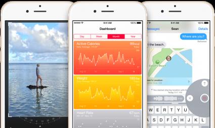 iOS 8 lifestyle