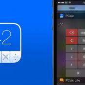iOS 8 widget PCalc