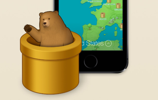 TunnelBear iOS VPN app privacy