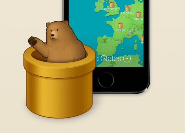 TunnelBear iOS VPN app privacy