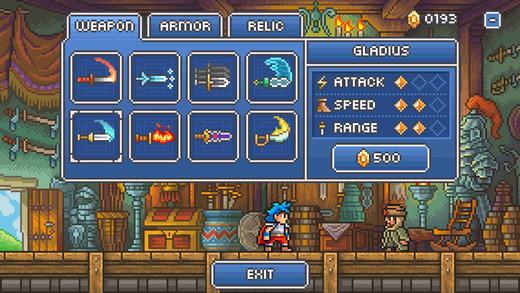 Goblin Sword RPG elementen iOS