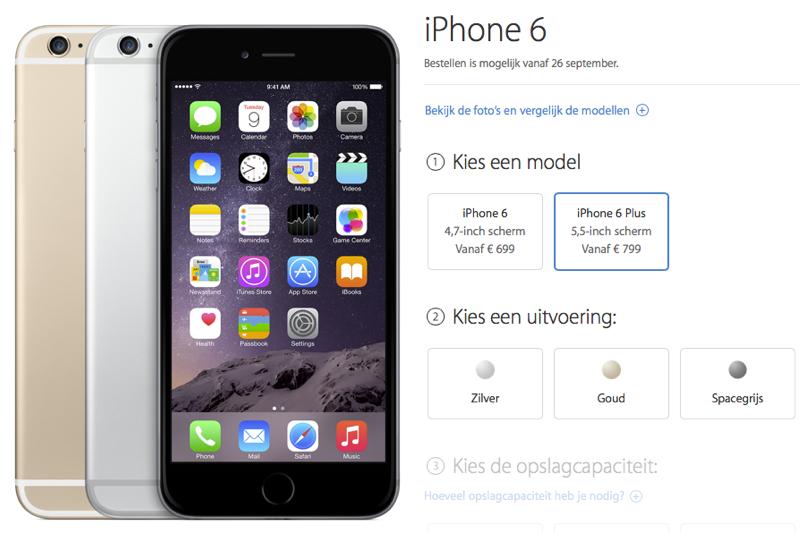iphone 6 plus bestellen apple store