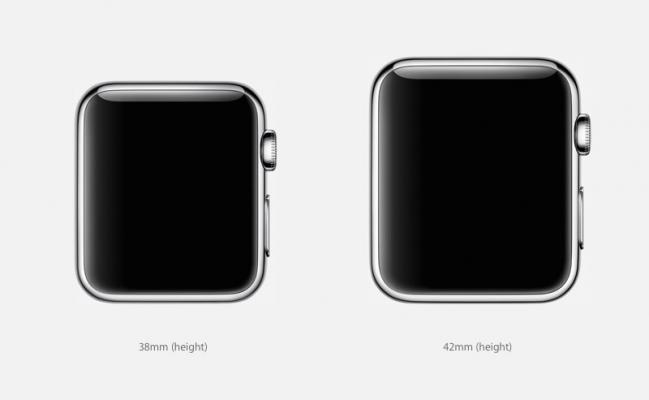 formaat afmetingen apple watch
