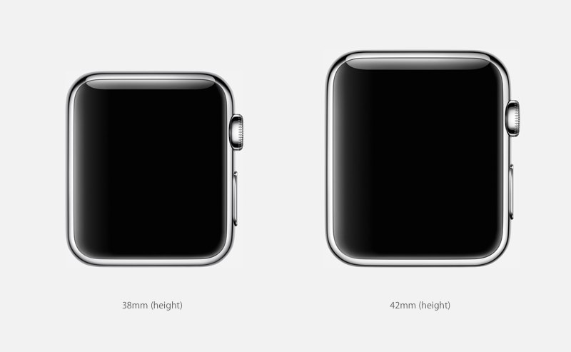 formaat afmetingen apple watch