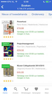 Bol.com boeken sorteren
