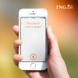 ING Inge stemassistent iPhone-app